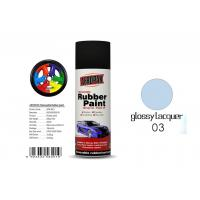 Quality Car Removable Rubber Spray Paint , Air DriedAuto Spray Paint With Glossy Lacquer Color for sale