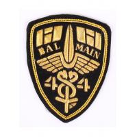Quality Laser Cut Boder Military Bullion Badges Washable Embroidered Uniform Patches for sale