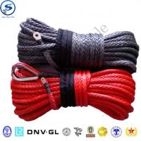 Buy cheap UHMWPE 4x4 offroad synthetic rope auto parts,winch rope, uhmwpe winch rope from wholesalers