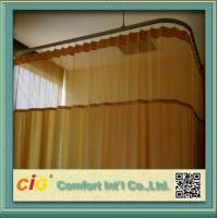 Quality Multicolor Plain Modern Curtain Fabric / 280cm Plain Hospital Cutain Fabric for sale