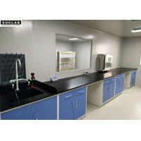 1.5*3*0.85m Steel Lab Furniture With Drawers For Science Projects Experiments
