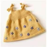 China OEM Polyester Combo knitted fabric 2 - 8Y yellow baby party dresses For Infant, Toddler on sale