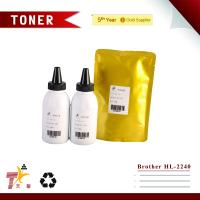 Quality No Colored toner, Compatible Brother HL2240 black color toner refill for sale