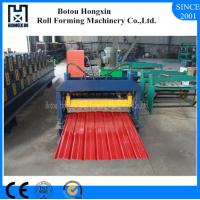 Durable Automatic Roll Forming Machine For Aluminum Plate Wall Panel