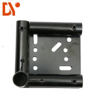 Quality Moving Equipment Caster Base Anti - Rust Black Color Steel Plate Extrusion for sale