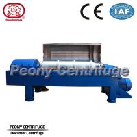 Quality Strong Power Decanter Centrifuges Continuous Centrifuge For Waste Water Plant for sale