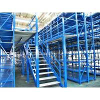 Quality Long Span Pallet Rack Mezzanine Catwalk Systems With Adjustable Steel Decking for sale