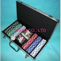 Quality MS-Chip-13 Aluminum Chip Case Black Color Poker Chip Display Case For Packing Chippers for sale