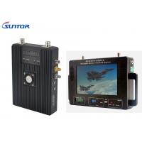 Quality Ruggedized Soldier Manpack Wireless HD Video Transmitter 300-900MHz Military Grade for sale