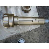 Gold flat spehrical  6 inch DTH drilling  tools of SD6 drill bit 152 mm