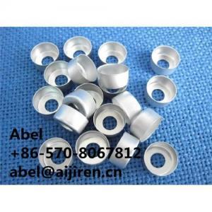 Quality Aluminum seal cap metal cap 11mm cap crimp seal cap for sale