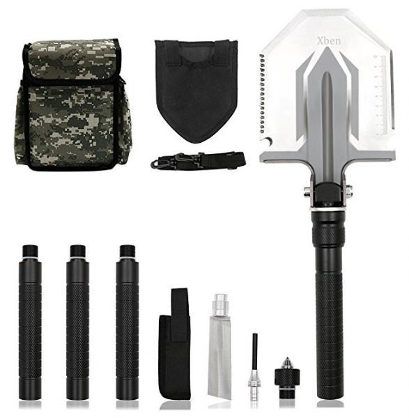 Compact Folding Shovel & folding Pick,Light,Army Tactical Shovel,car shovel,hiking shovel,camping shovel