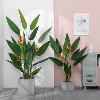 Living Room Artificial Bamboo Plant , Interior Decoration Faux Banana Tree for sale