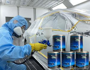 Quality ODM Multi Color 1K Car Paint For Building Coating for sale
