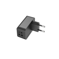 Quality RoHS 5V 3.4A EU Dual Port Usb Wall Charger For Mobile Phone for sale