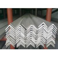 Quality Hot Rolled Stainless Steel Angle Bar , No.1 Finish Stainless Steel Angle Stock for sale