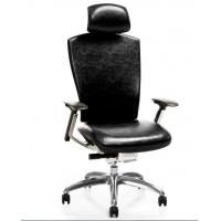 Quality New Design Italian Genuine Leather Ergonomic Executive Chair for sale
