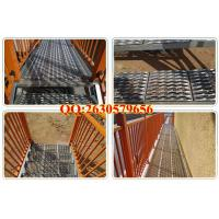 Buy cheap galvanized Anti-skid plate for sidewalk grates from wholesalers