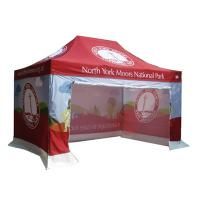 China Anti UV Portable Canopy Tent CMYK Heat Transfer Printing Easy Maintenance on sale