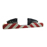 Quality Iron Lifeline Rear End Highway Crash Attenuator With Reflective Film for sale