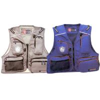 China Blue / Red Marine Life Jackets Fly Fishing Life Vest For Lure Fishing on sale