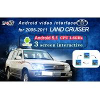 Quality Land Cruiser Android Auto Interface , Navigation Video Interface with Dynamic Parking Guide Line for sale