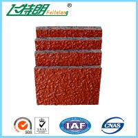 Quality PU Glue Mix SBR Rubber Particle Running Track Materials Outdoor Playground for sale