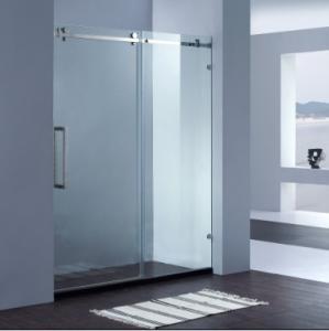 China Frameless sliding shower door on sale