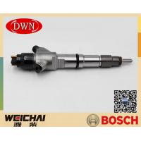 Buy cheap BOSCH Original Fuel Injector 0445120344 For WEICHAI 612640080031 WP10 Diesel from wholesalers