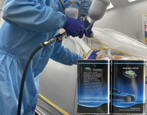 Quality Fast Volatilization Automotive Paint Thinner Marine Clear Coat for sale