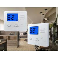 Quality 24V White Color  Digital Room thermostat Temperature Control for Heating Parts for sale