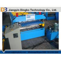 Quality 5.5KW Corrugated Roof Panel Roll Forming Machine 0.3mm - 0.8mm thickness for sale
