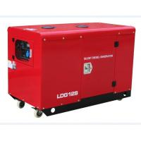 Quality Air-Cooled Silent Diesel Generators Set , 11KW 240V  Twin - Cylinders for sale