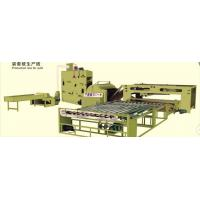 China Fiber Cotton Wadding Production Line Auto Quilt Filling Line 1 Year Warranty on sale