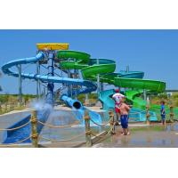 China Largest Combination Adult Spiral Water Slide For Swimming Pool / Aqua Park on sale