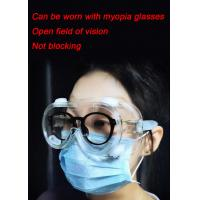 China Anti Scratch Eye Protection Goggles Disposable Blocking Body Fluids And Blood Splashes on sale