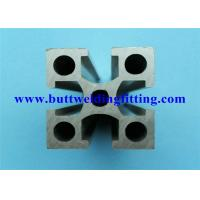 Quality Extruded Modular Aluminum Profiles Forged Pipe Fittings For Framing System for sale