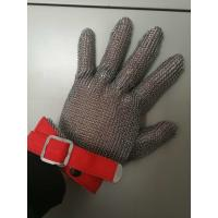 Quality Stainless Steel Mesh Safety Gloves , Kitchen Safety Meat Slicer Gloves for sale
