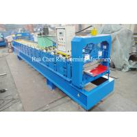 Aluminum Single Layer Roofing Sheet Roll Forming Machine , Galvanized Board