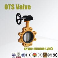 Quality lut type butterfly valve price with ISO/CE certificates for sale