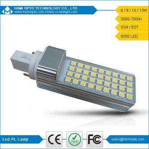 China 8W 85-265V SMD leds E27/G24 SMD5050 pl led lamp g24 on sale