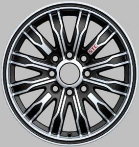 Custom Made Car Chrome Alloy Wheels 14 Inch ET 25-35
