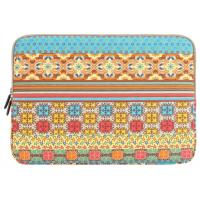Quality PLEMO Bohemian Style Canvas Fabric Laptop Sleeve for Girls , 13 - 13.3 Inch Pattern for sale