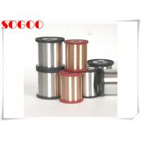 Quality CuNi1 CuNi14 Nickel Alloy Wire , Copper Coated Resistance Wire 0.6mm / 0.8mm Dia for sale