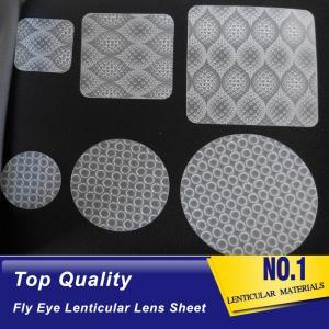 China hot sales dot lens film fly-eyes sheet lenticular 3d films for led light diffuser films lenticular lens of the eyeball on sale