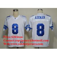 Quality NFL Jerseys Dallas Cowboys #8 AIKMAN White Jersey for sale