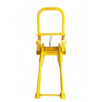 Quality Foldable Wheeled Portable Vehicle Barricades Anti Collision for sale