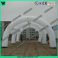 Quality Advertising Inflatable Tunnel Tent, White Inflatable Arch Tent For Event Party Sale for sale