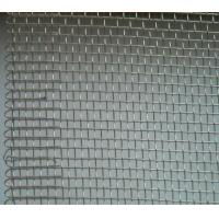 China Electro Galvanized Welded Wire Mesh Crimped Square Used In Industries on sale