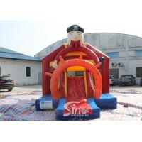 Quality Outdoor Pirate Inflatable Bounce Slide Combo For Kids Outdoor Party Fun for sale